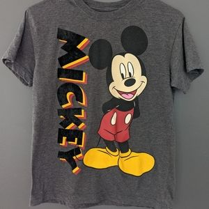 Disney Mickey Mouse grey short sleeved t-shirt